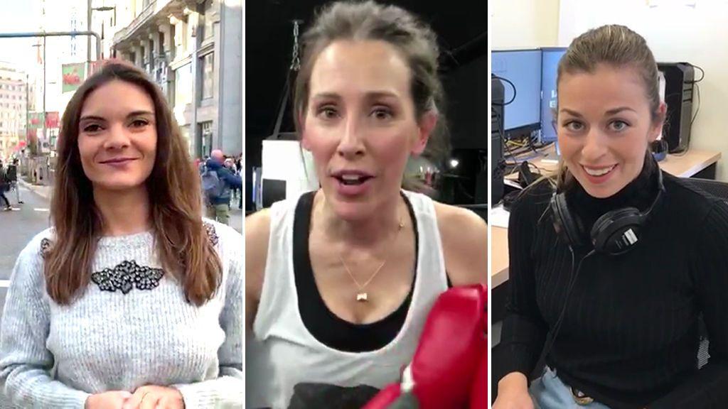 Las mujeres dominan el equipo de reporteros de Cuatro al día