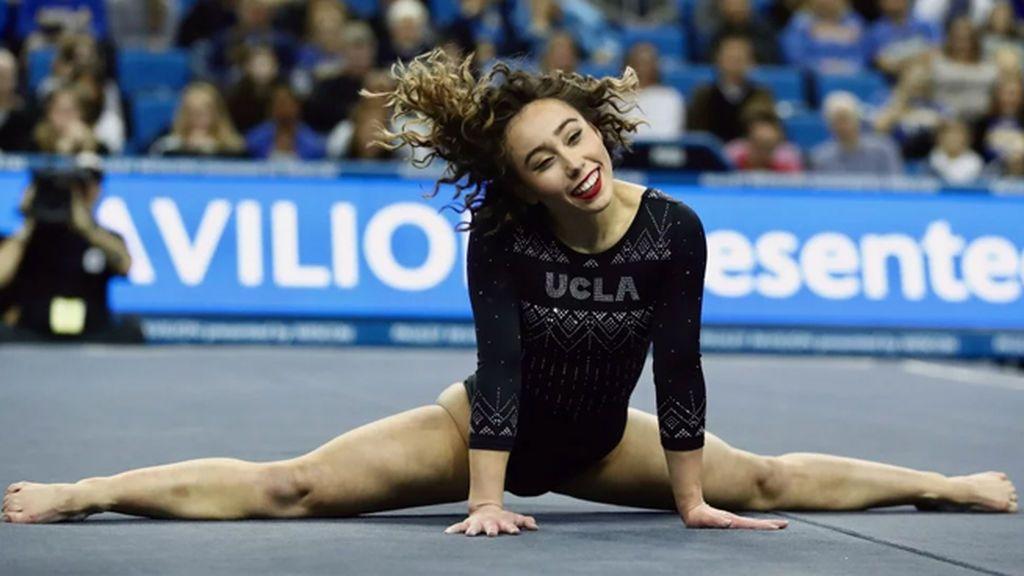 Katelyn Ohashi lo vuelve a hacer: consigue otro diez con su ejercicio de gimnasia