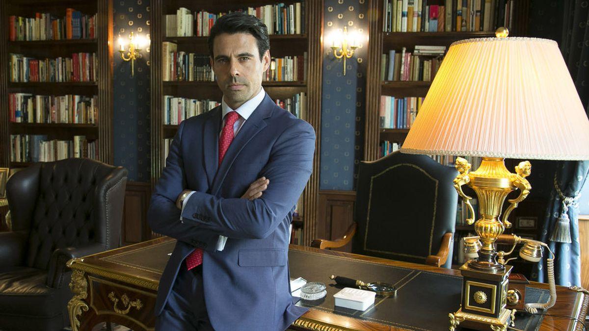 Emmanuel Esparza, en 'Secretos de Estado'.