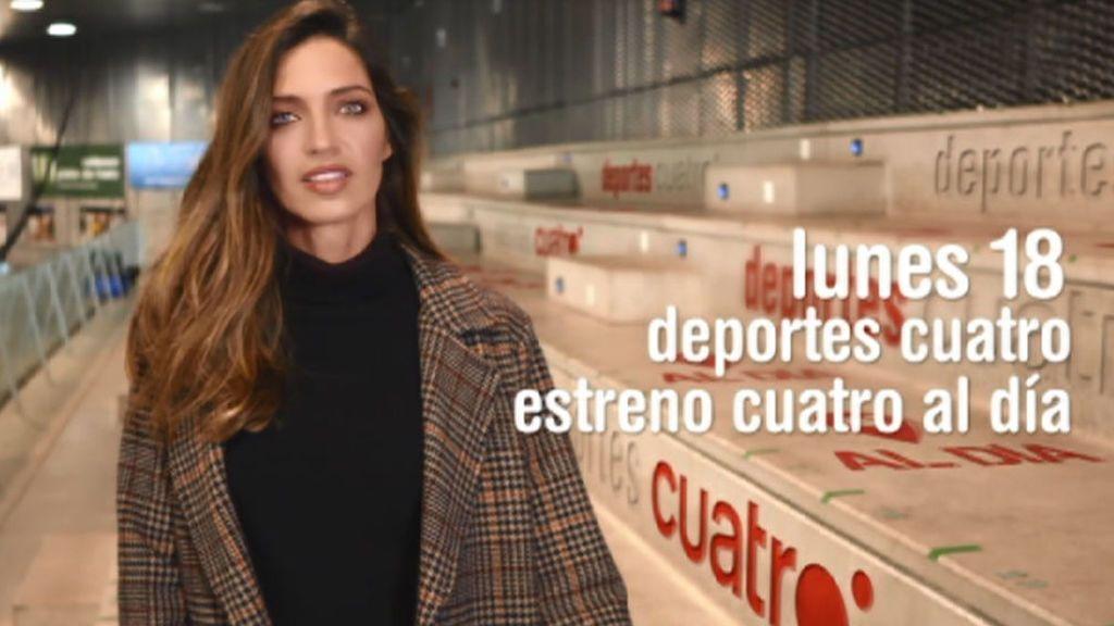 Sara Carbonero, nueva colaboradora de Deportes Cuatro