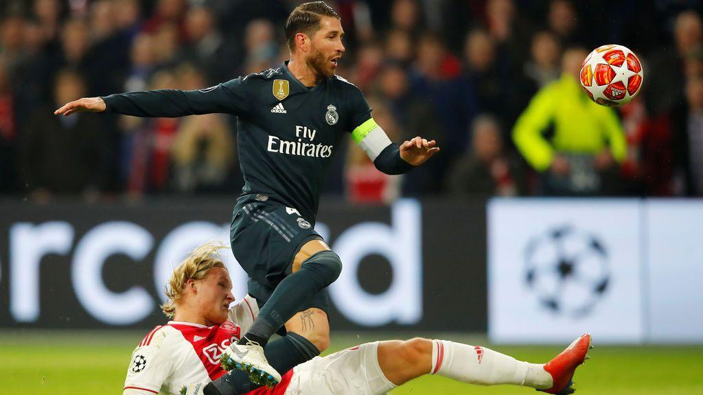 ¿Sería justo que la UEFA sancionara con más partidos a Ramos? Vota ya