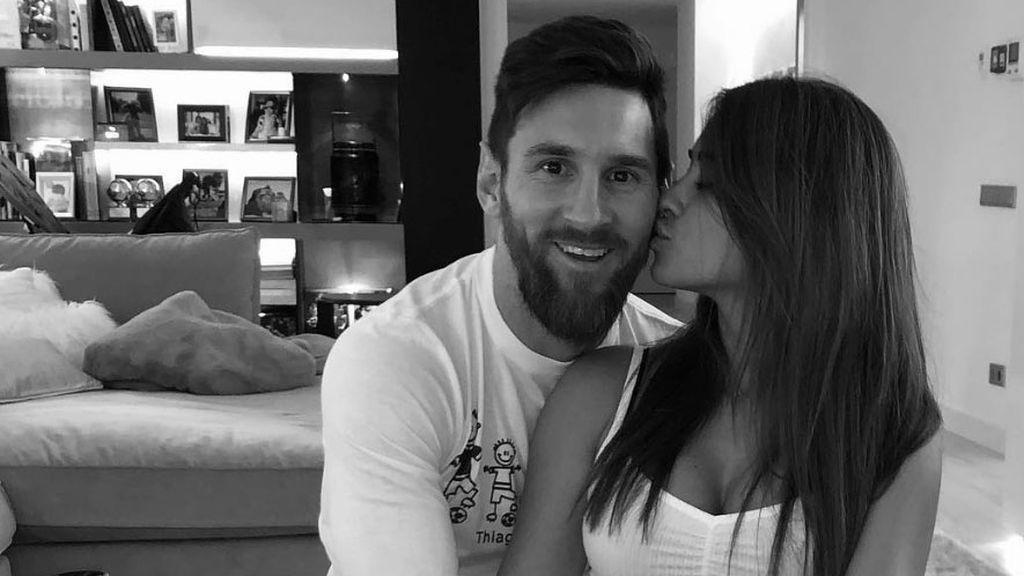 El mensaje más romantico de Messi, y otros futbolistas, por el día de San Valentín