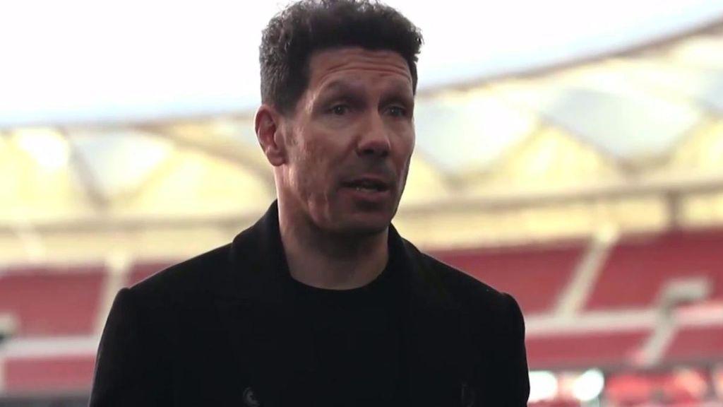 El mensaje de Simeone a la afición tras renovar con el Atlético hasta 2022