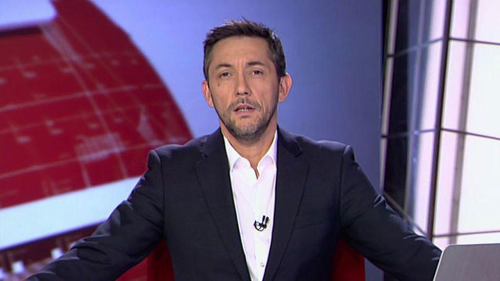 Javier Ruiz se despide a Noticias Cuatro