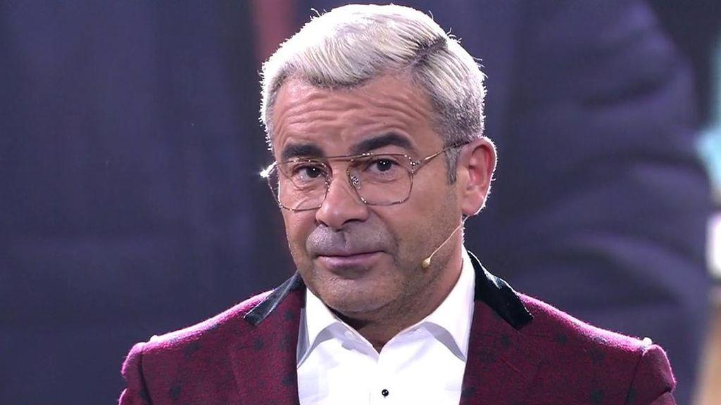 """Jorge Javier, muy enfadado con el público: """"Que la gente salga en televisión no quiere decir que se le pueda decir de todo"""""""
