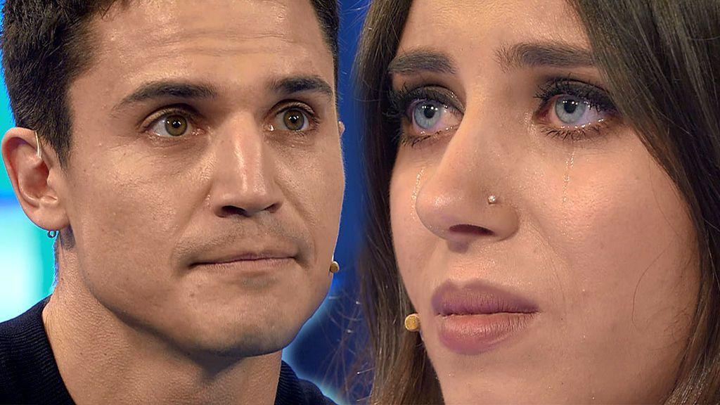 "A Álex González se le quiebra la voz al sorprender a Isabel: ""Esa mirada refleja el alma tan bonita que tienes"""