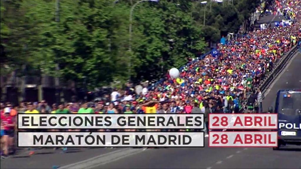 El coordinador de seguridad del Ayuntamiento de Madrid ve inviable el maratón en día de Elecciones