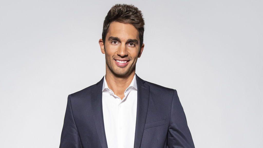 Santi Burgoa, copresentador de 'Cuatro al día'.