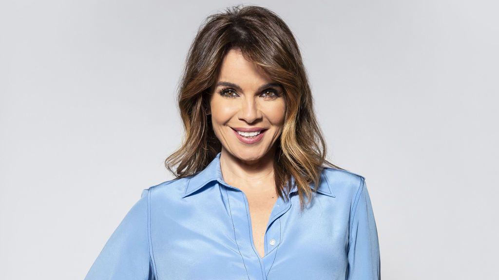 Carme Chaparro, presentadora de 'Cuatro al día'.