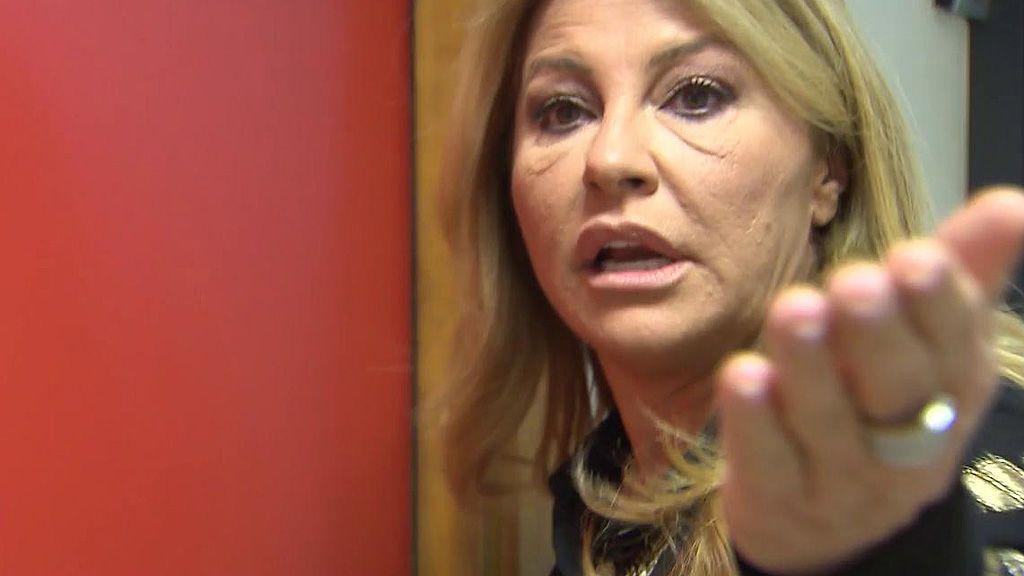 El enfado de Cristina Tárrega con Omar Suárez