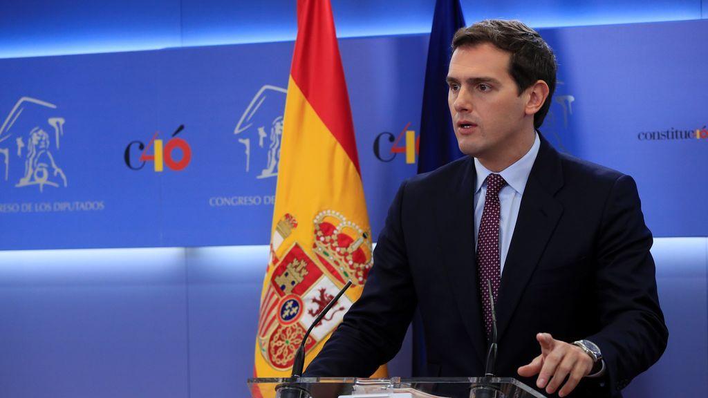 """Elecciones el 28 de Abril: Rivera solo pone """"cordón sanitario"""" a los que quieren """"liquidar España"""""""