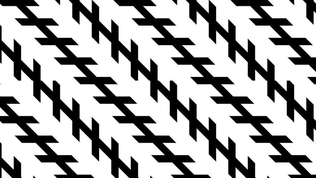 La ilusión óptica de Zöllner: no sabrás si ves las líneas paralelas o inclinadas