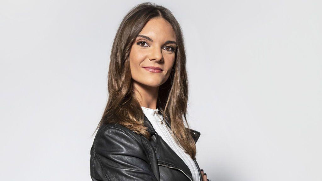 Carla Sanz, reportera de 'Cuatro al día'.