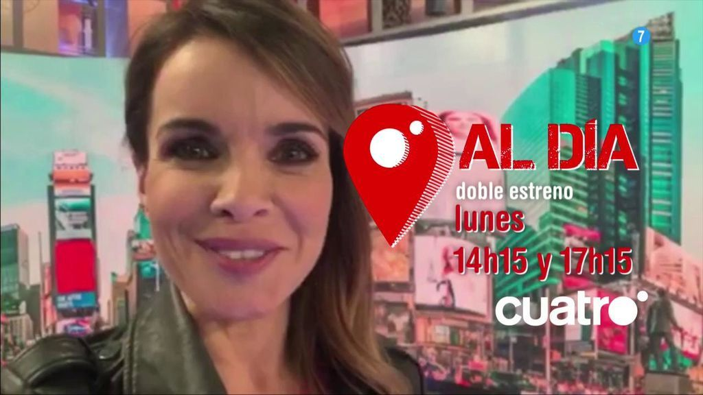 Doble estreno de 'Cuatro al día': el próximo lunes a las 14.15 y a las 17.15 horas