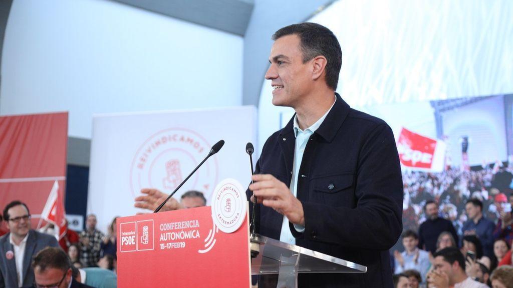 """Pedro Sánchez: """"Se nota que tenemos ganas de votar el 28 de abril"""""""