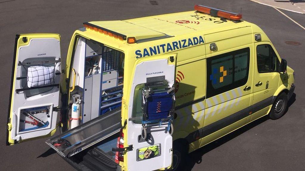 En estado crítico un menor al caer desde una torre de tendido eléctrico en Tenerife