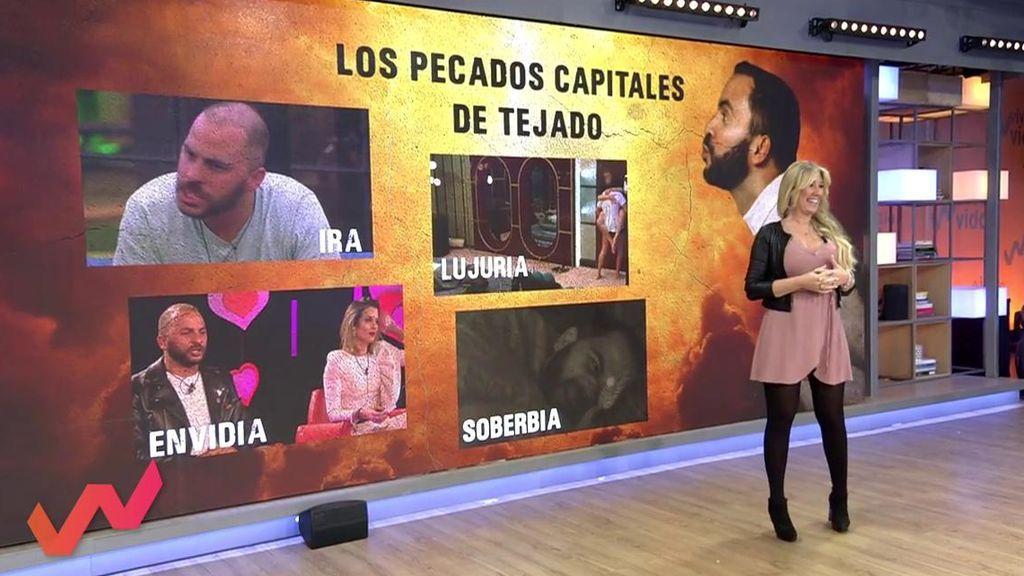 Los pecados capitales de Antonio Tejado: Ira, envidia, lujuria y soberbia