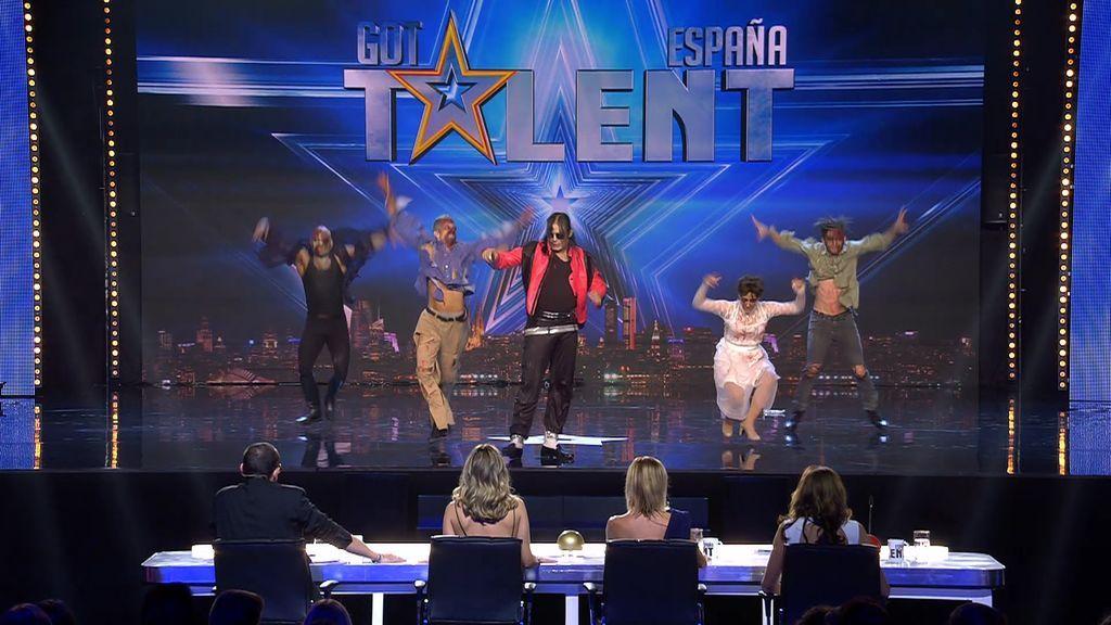 La actuación de Michael Jackson Tribute enfrenta a Risto y Edurne