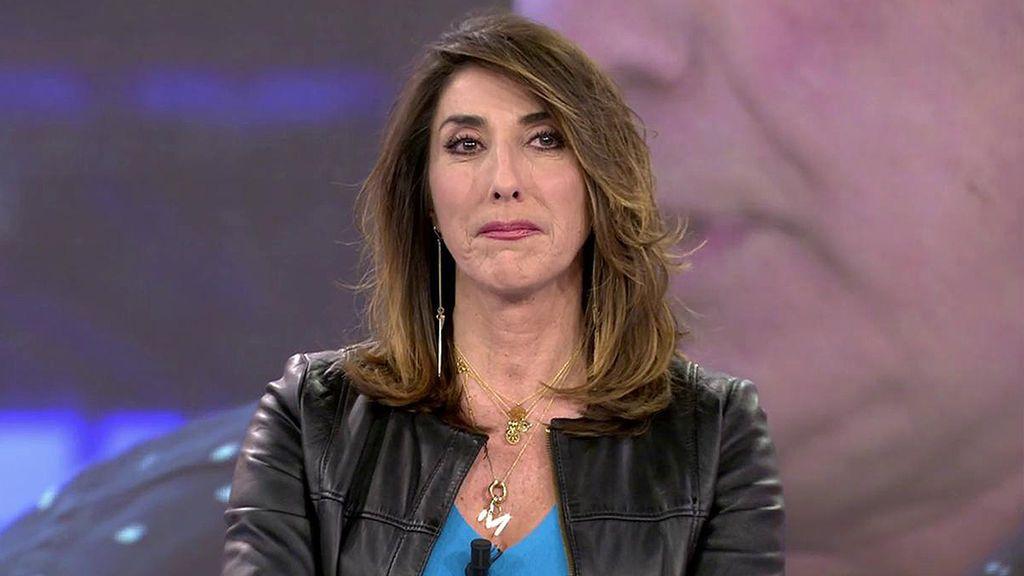 """Paz Padilla, rota, manda un mensaje a Bertín Osborne: """"No es fácil ver que tu hijo sufre"""""""