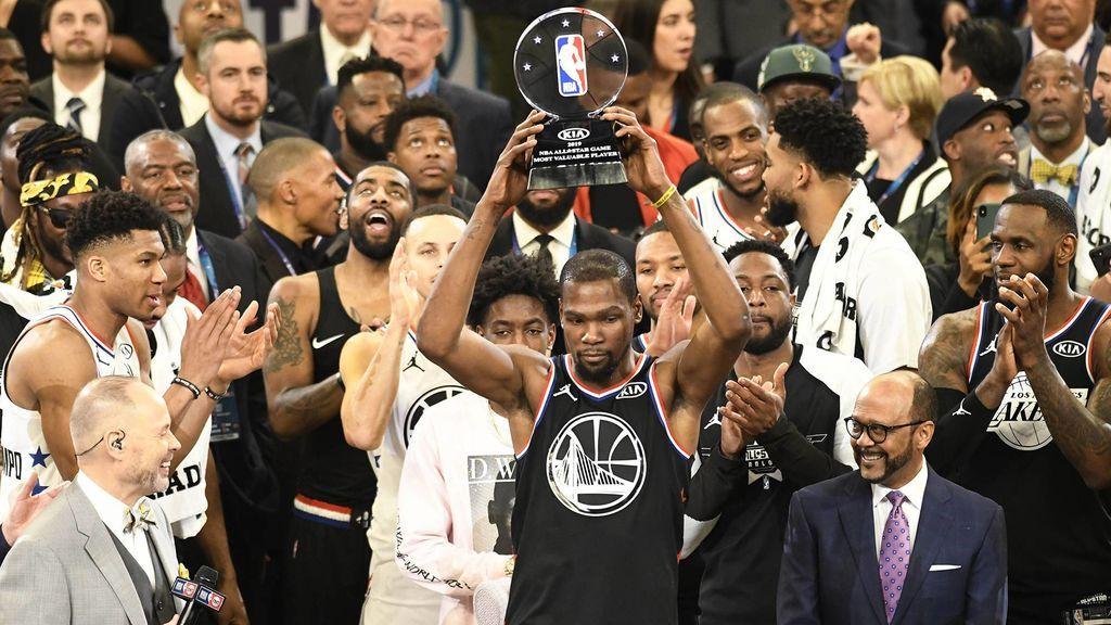 El Team LeBron remonta 20 puntos y se lleva el All Star de la NBA