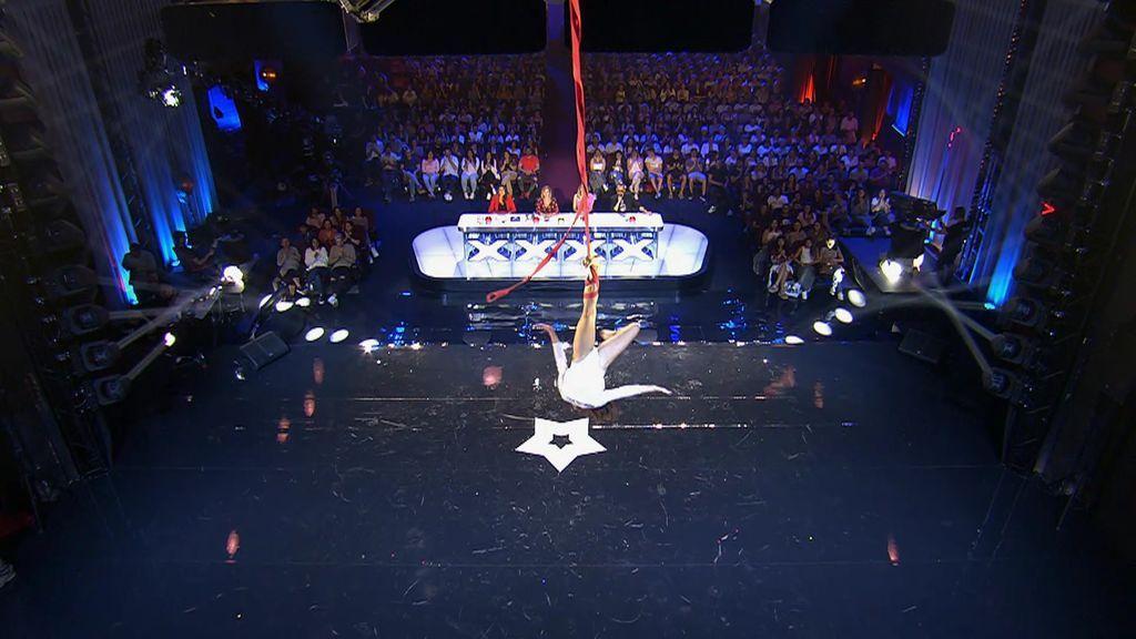 """La actuación de danza aérea de Naiara cae por el 'Edurnator': """"No he visto las transiciones limpias"""""""