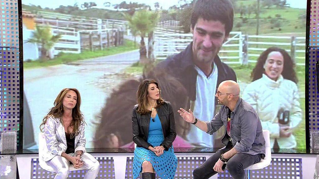 María Patiño y Diego Arrabal, enfrentados por los rumores que relacionan a la periodista con Jesulín