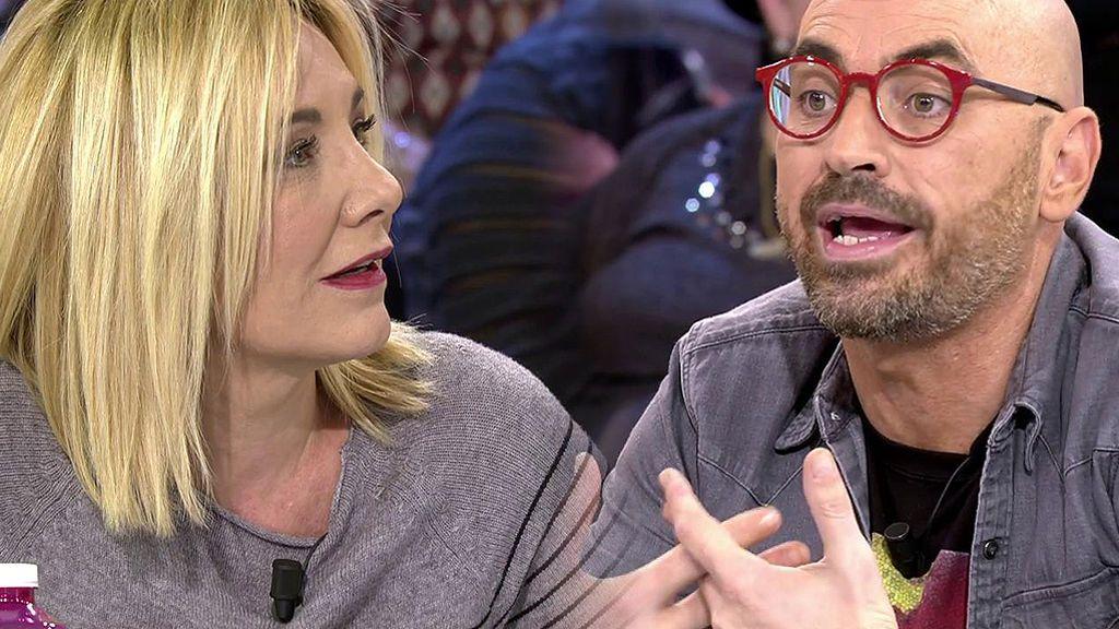 """Belén Ro se enfrenta a Diego Arrabal: """"Ten cuidado, yo no me he arrastrado en la vida"""""""