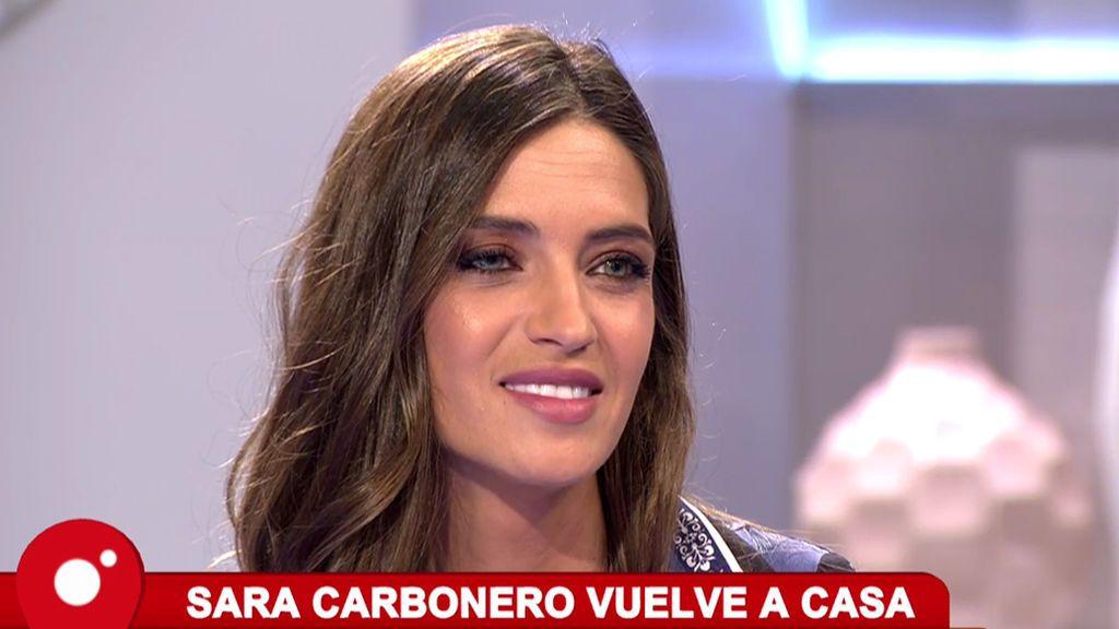 """Vuelve Sara Carbonero: """"Las madres no debemos sentirnos culpables por trabajar"""""""