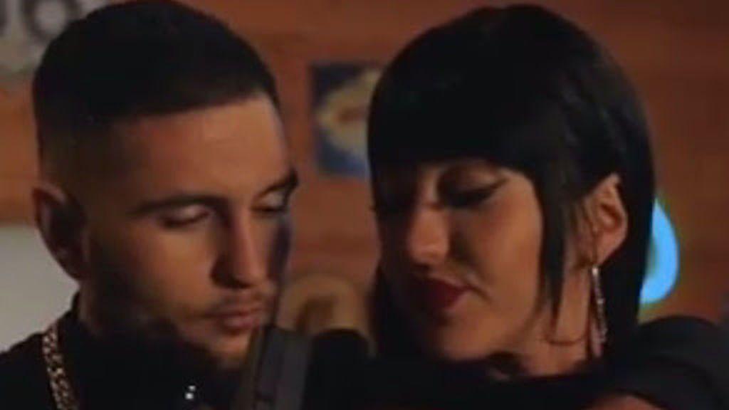 """Primeras imágenes de Aurah y Omar juntos en su nuevo videoclip: """"Cambiamos las reglas"""""""