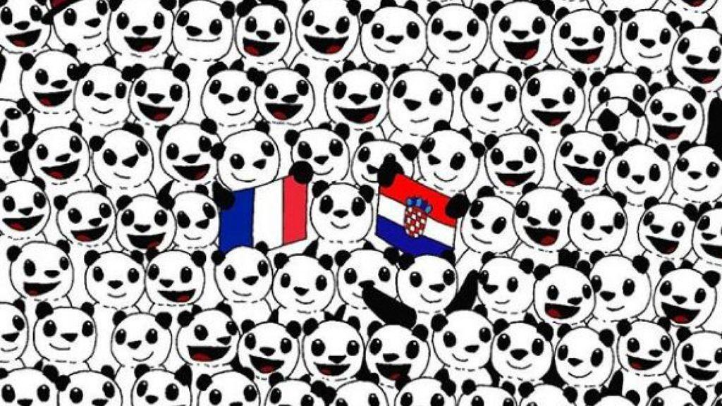 Pon a prueba tu capacidad visual: encuentra el balón de fútbol entre todos estos osos panda