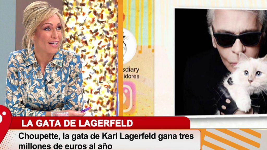 La gata de Karl Lagerfeld es la heredera de su gran fortuna
