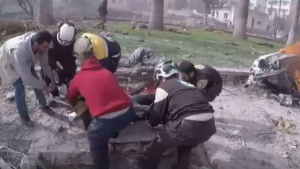 Los terroristas matan a 15 personas en un atentado en la ciudad siria de  Idlib