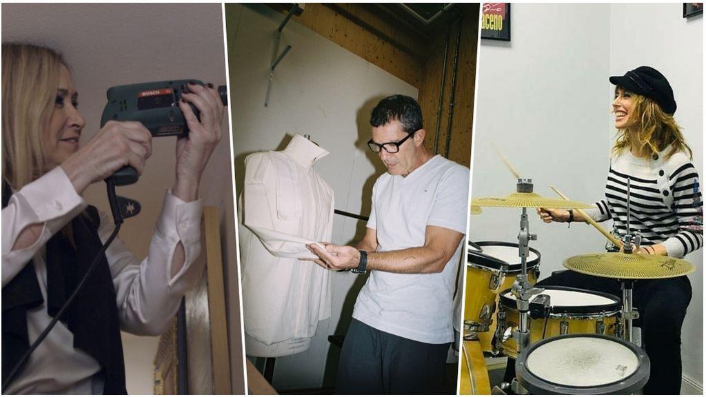 Bricolaje, costura, instrumentos musicales… Los hobbies secretos de los famosos