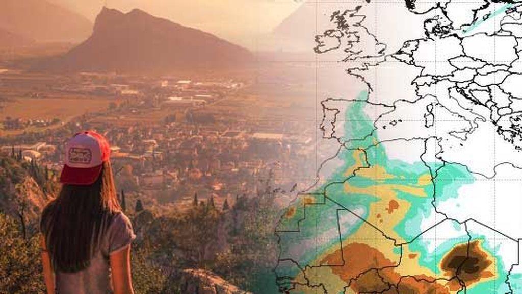 Eso que ves no es contaminación, es calima: el polvo sahariano llega a la península