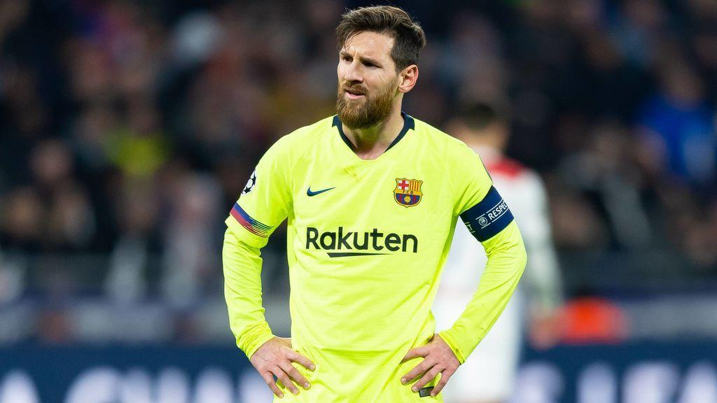 El Barça no encuentra el gol en Lyon y se jugará el pase a cuartos en el Camp Nou (0-0)