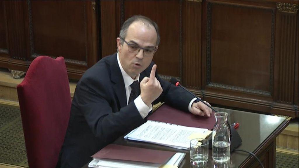El consejero de presidencia de la Generalitat justifica la celebración del referéndum ilegal ante los tribunales