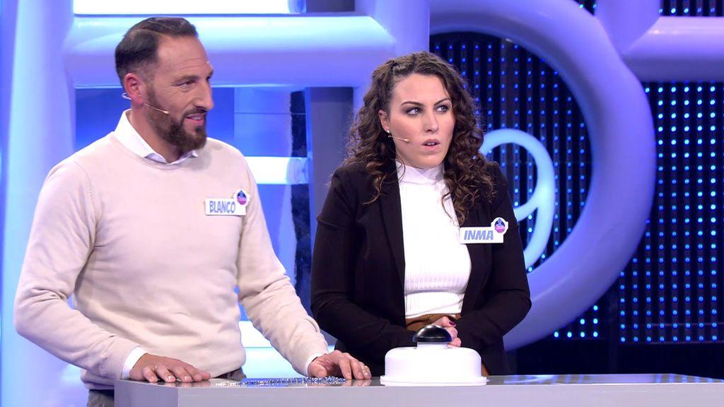 Blanco e Inma pierden 24.000 antes de la 'ronda final'