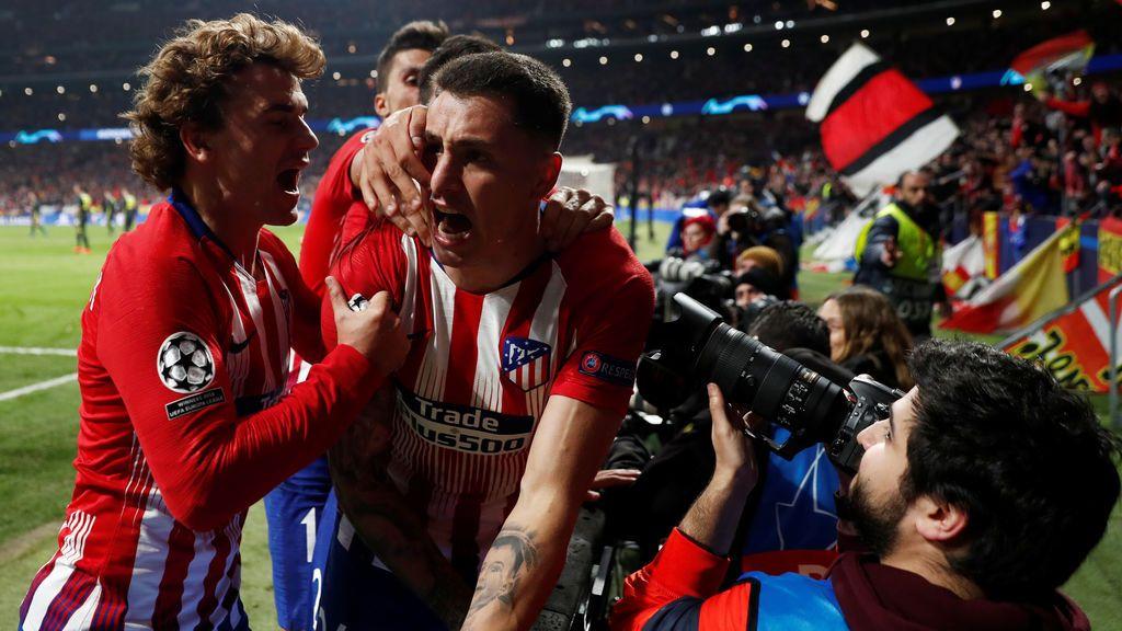 El Atlético pasa por encima de la Juventus de Cristiano (2-0) y se acerca a los cuartos de la Champions
