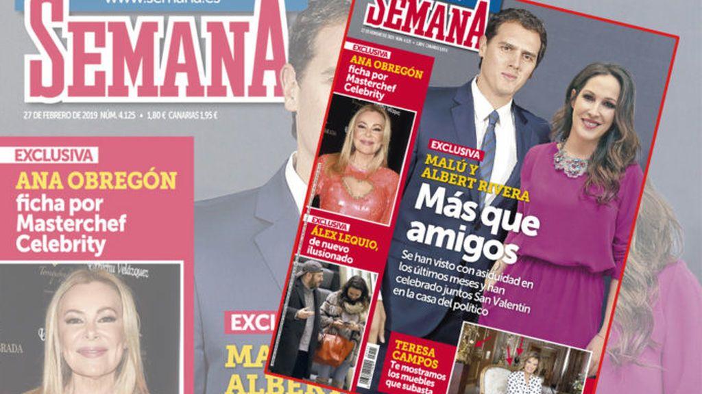 La sorprendente relación de Malú y Albert Rivera, según la revista Semana