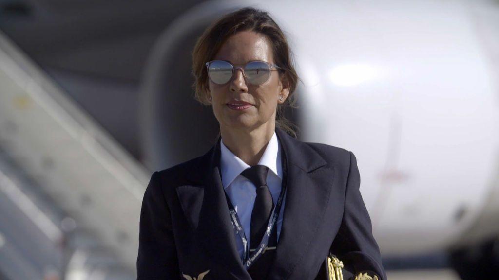 "Julia Abad: ""Mi padre se opuso a que fuese piloto"""