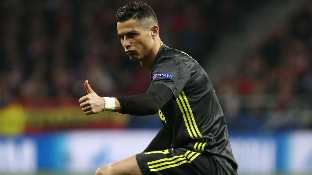 El gesto de Cristiano Ronaldo por sus cinco Champions a la grada del Metropolitano
