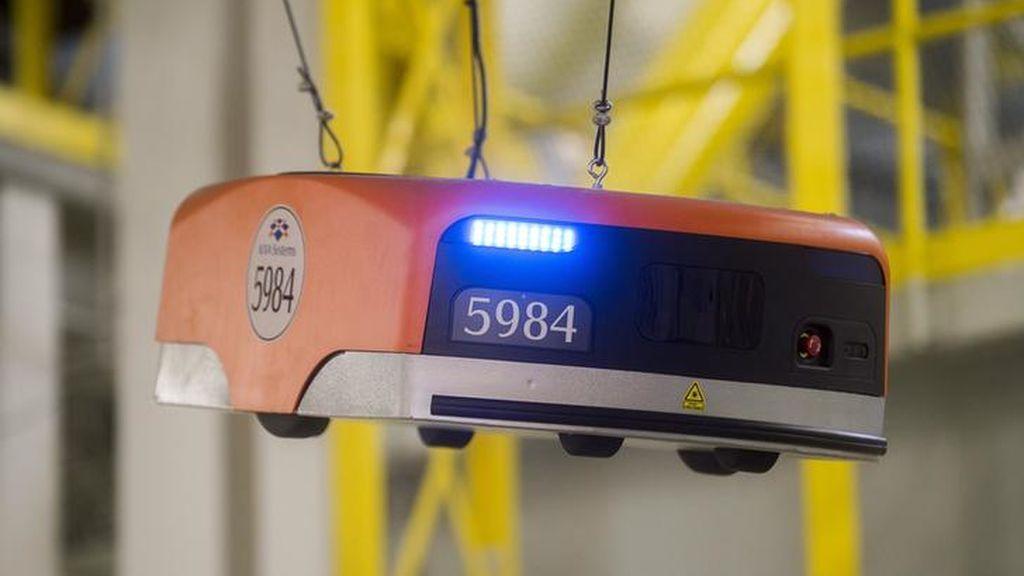Amazon agiliza el trabajo de sus robots pasando de un día a una hora