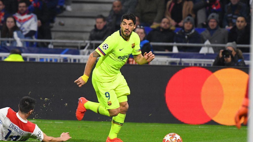 Los números de Luis Suárez en Champions: Solo ha marcado un gol en tres años y medio