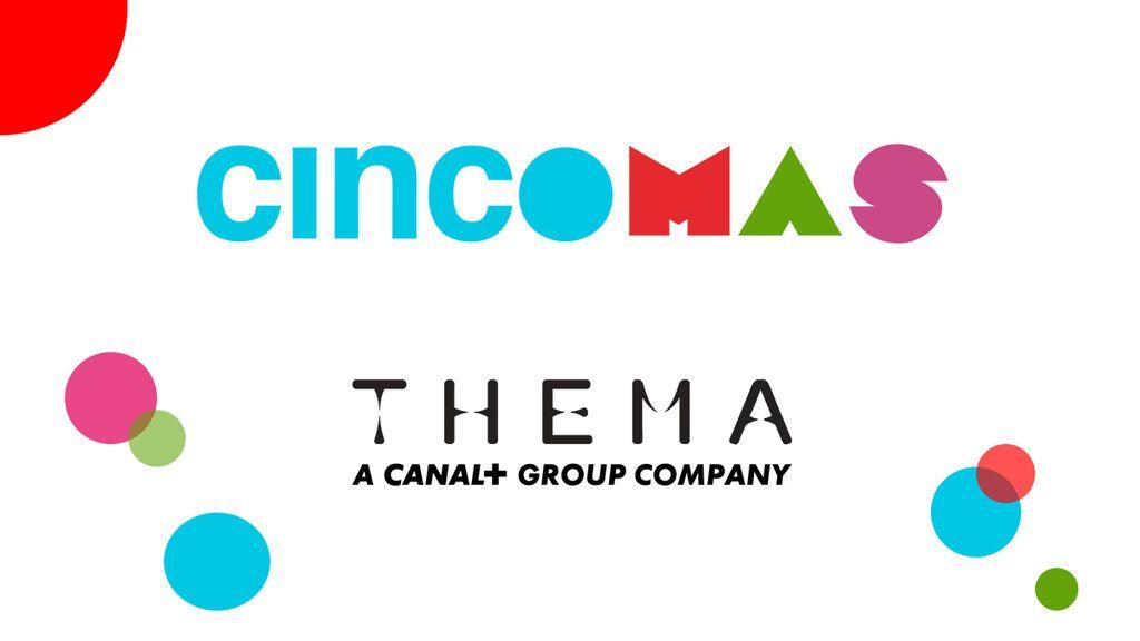 CincoMAS amplía su señal en el continente americano gracias a un acuerdo estratégico con el grupo de distribución Thema