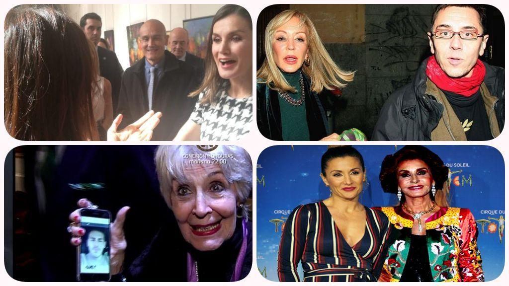Elena Furiase y Letizia y otras insólitas amistades VIP