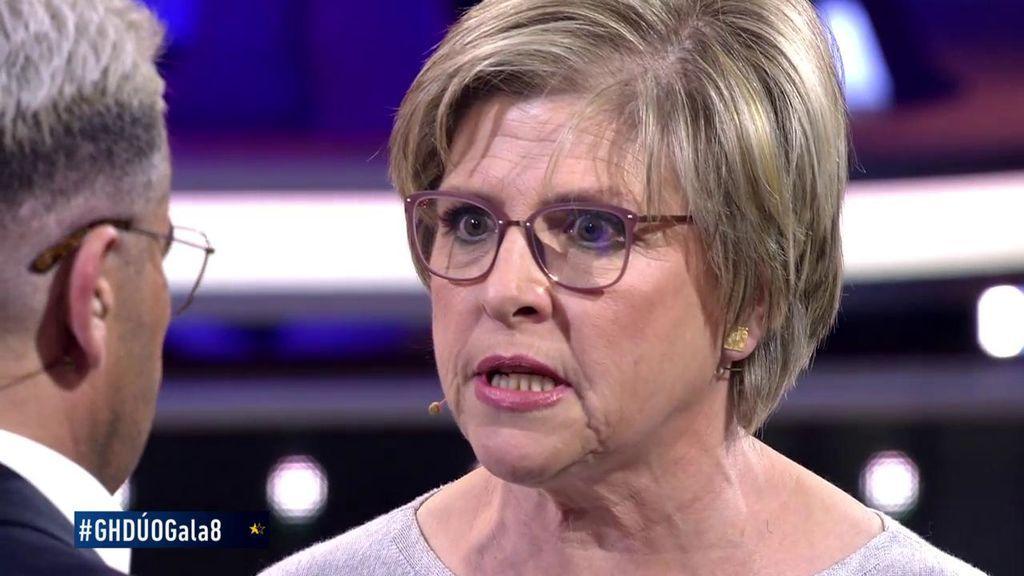 """Juani, la madre de María Jesús, reaparece en televisión y se encara con Julio Ruz: """"Me voy a encargar de alejarla de ti"""""""