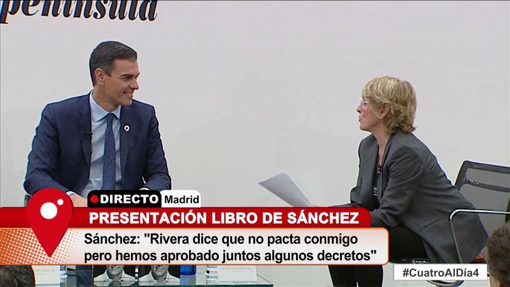"Mercedes Milá, de Albert Rivera: ""Está más a ligar con Malú que a otra cosa"""