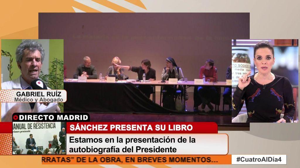 """Carme Chaparro corta la conexión con el defensor del clorito de sodio: """"No tenemos más que hablar"""""""