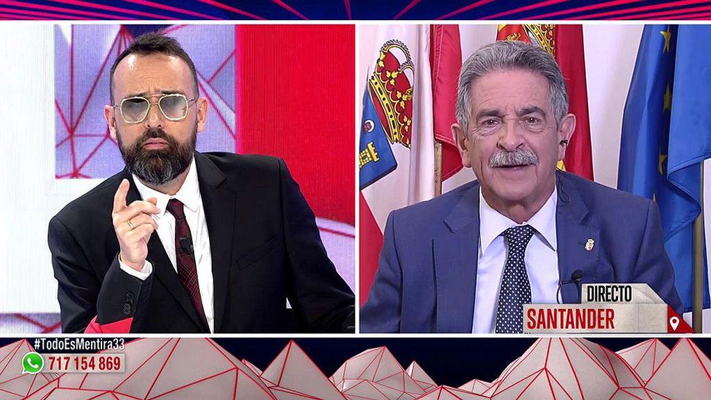 """Miguel Ángel Revilla, a Risto Mejide: """"No invites nunca a comer a Antón Losada"""""""