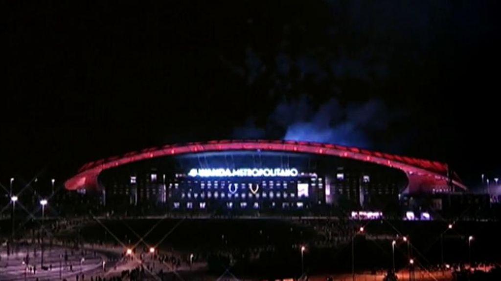 El Metropolitano vive su primera gran noche de Champions ante la Juventus